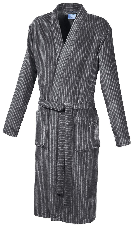 Joop  Herren Kimono-Bademantel Elegance   1630 Graphit - 58 60