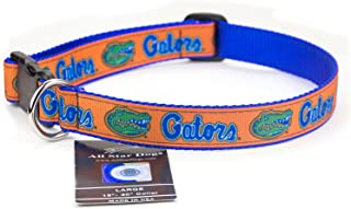 product image for All Star Dogs Florida Gators Ribbon Dog Collar