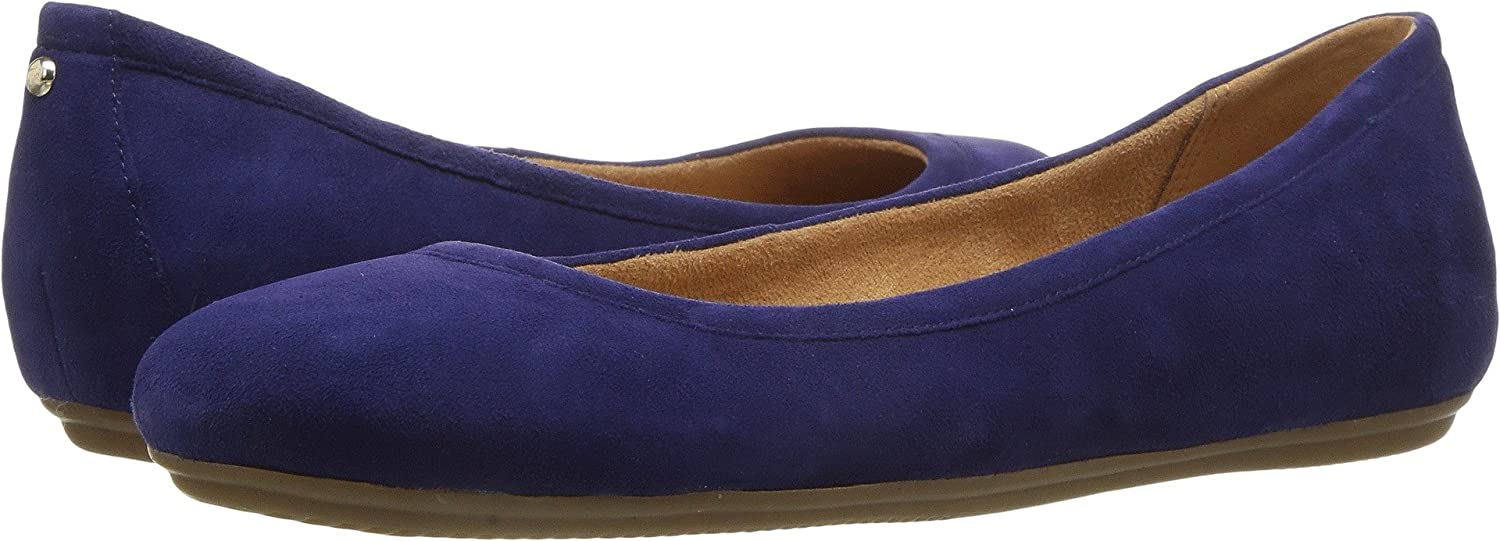 Naturalizer Women's Brittany Ballet Flat B01N1WUG42 10 B(M) US|Byzantine Suede