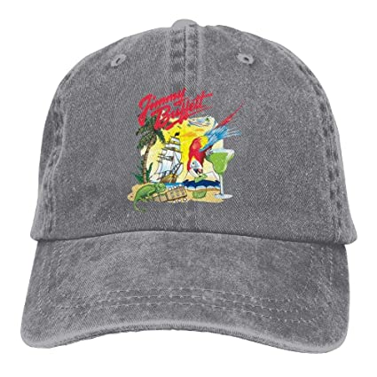 Amazon.com   Strividialous Men and Momen Unisex Jimmy Buffett Country Low  Profile Washed Dyed Cotton Adjustable Baseball Cap Hats Ash   Sports    Outdoors 39cc918a374