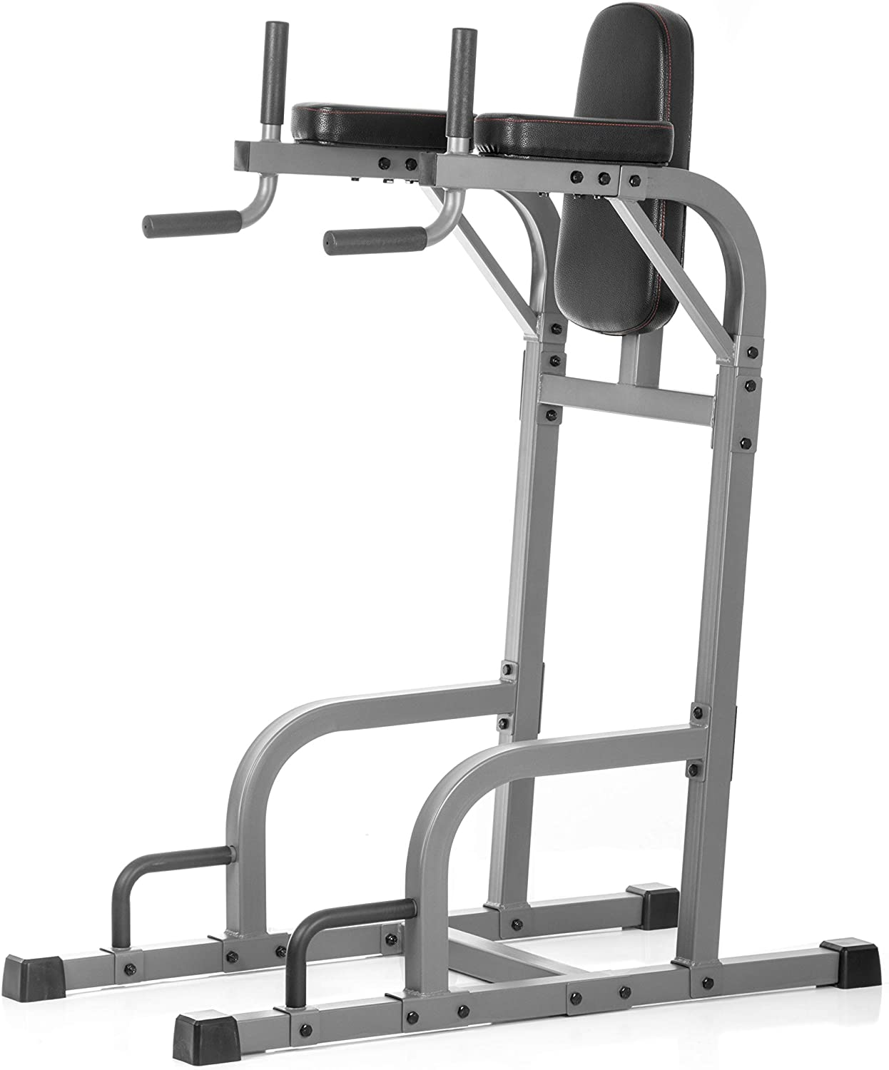 XMark Commercial Vertical Knee Raise with Dip Station and Push Up Station