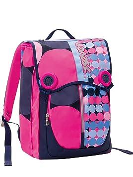 Mochila Extensible SEVEN - LOUD - violeta rosa - con auriculares - 28 litros escolar y tiempo libre - nuevo!: Amazon.es: Hogar