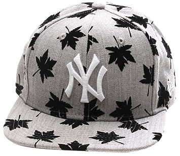 Nueva Era Flock hojas Original Fit gorra – NY Yankees – tamaño S/M ...