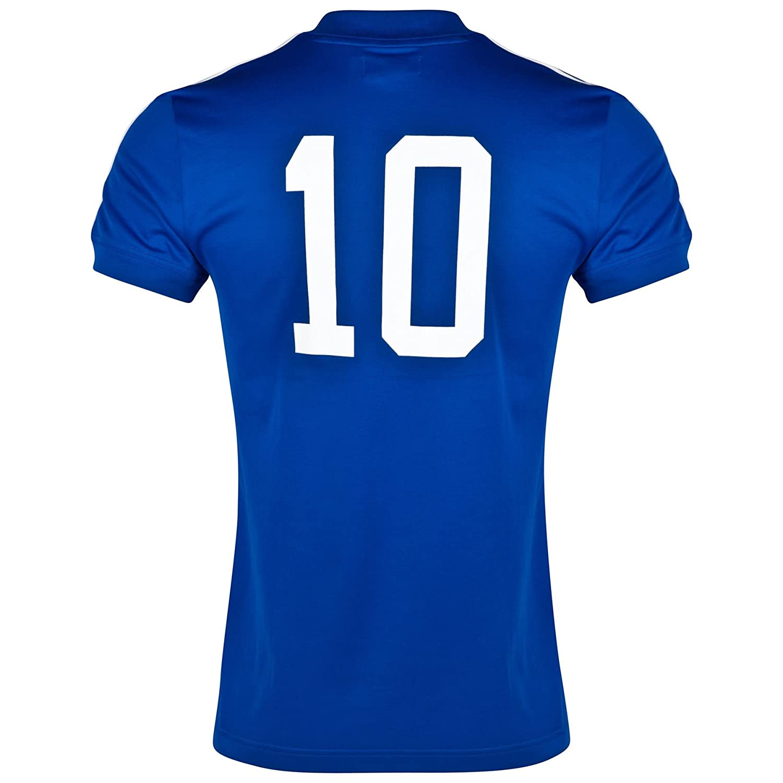 dfa6ab8e adidas France Retro Shirt Blue XL: Amazon.co.uk: Sports & Outdoors