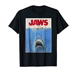 JAWS Shirt 1975 T h r i l l e r Shark Movie T-Shirt, Hoodie, Sweatshirt, Long Sleeves, Sweatshirt For Women Men (2)