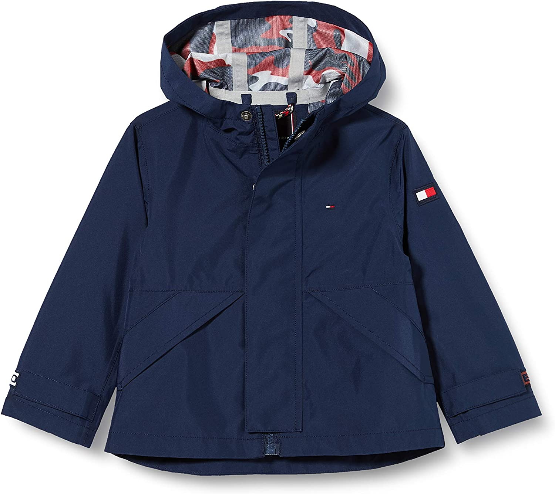 Tommy Hilfiger Jungen Hooded Tech Coat Mantel
