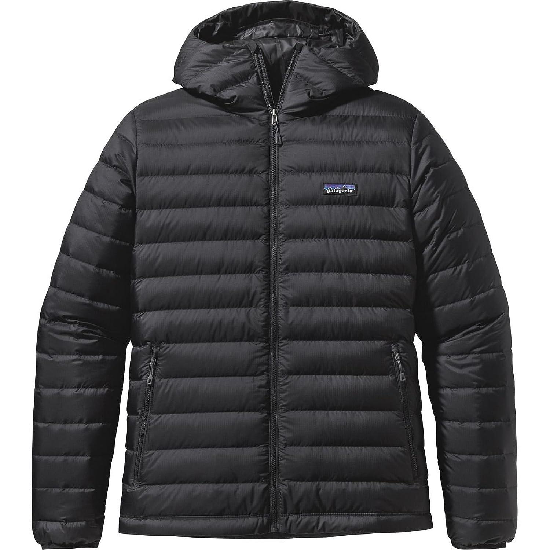 パタゴニア アウター ジャケット&ブルゾン Patagonia Down Sweater Hooded Jacket Black 111 [並行輸入品] B075JPM13J