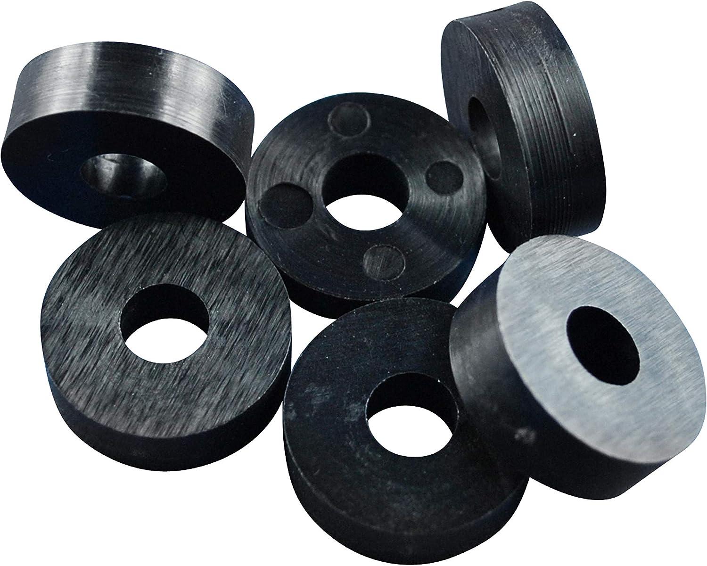 naturale Distanziatori colore a scelta tra nero piastre di compensazione plastica trasparente rondelle distanziatrici in poliammide
