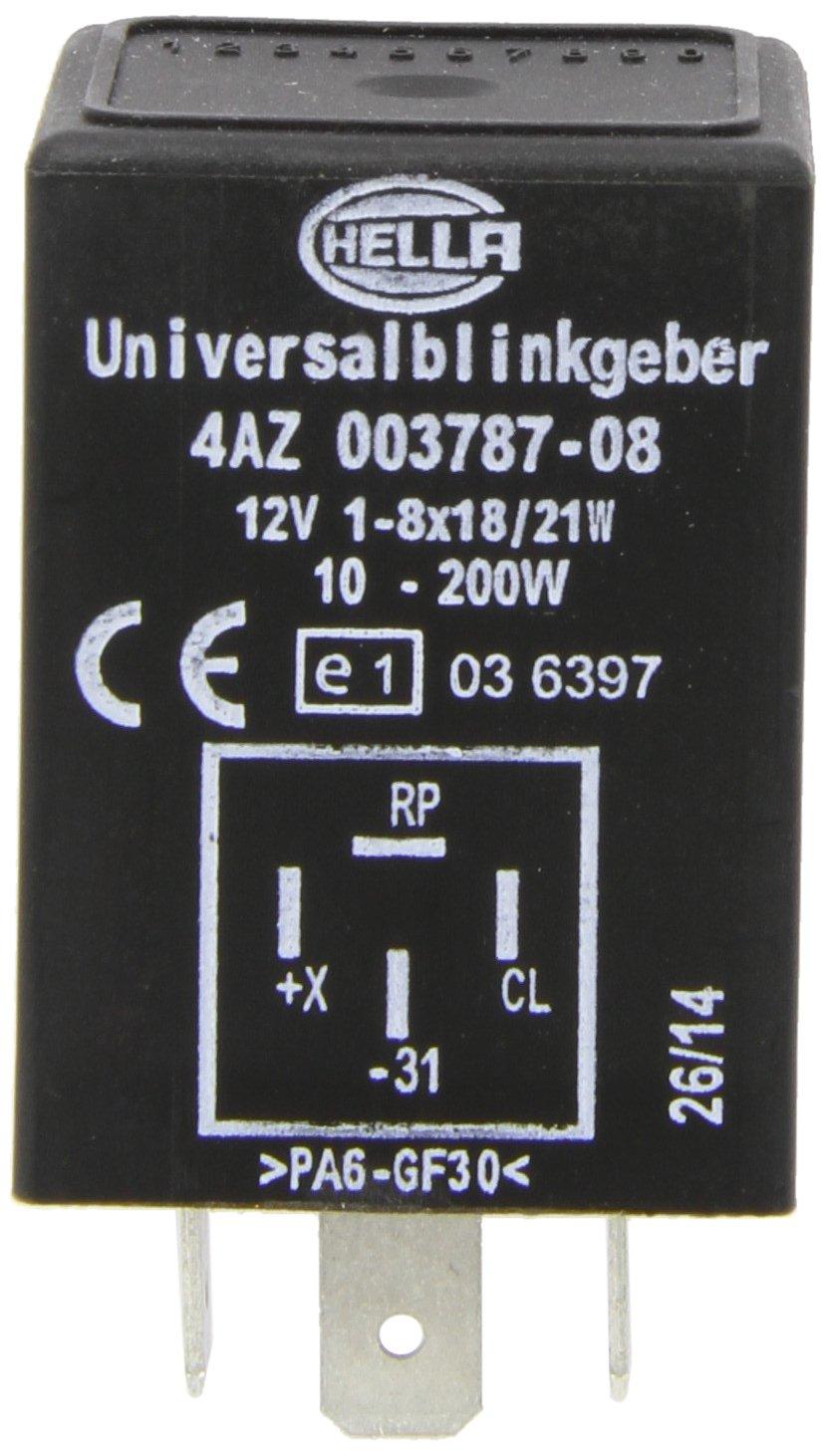 HELLA 4AZ 003 787-081 Blinkgeber, 12V, mit Halter, mit Kabel Hella KGaA Hueck & Co.
