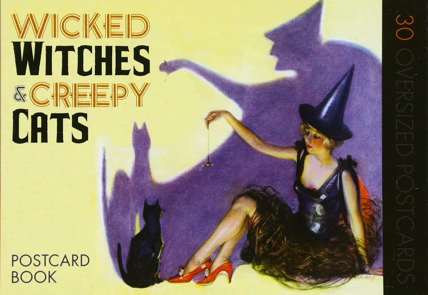 Wicked Witches & Creepy Cats: Postcard Book (Halloween)