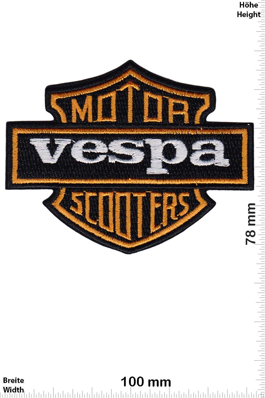 Patch - Vespa - Motor Scooters - HQ - Motorsport - Sport - Motorrad - Vespa - Vespa- Aufnäher - zum aufbügeln - Iron On