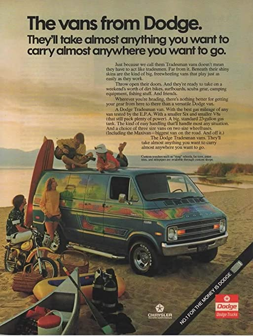 1975 GMC Motor Home Vintage Print Ad
