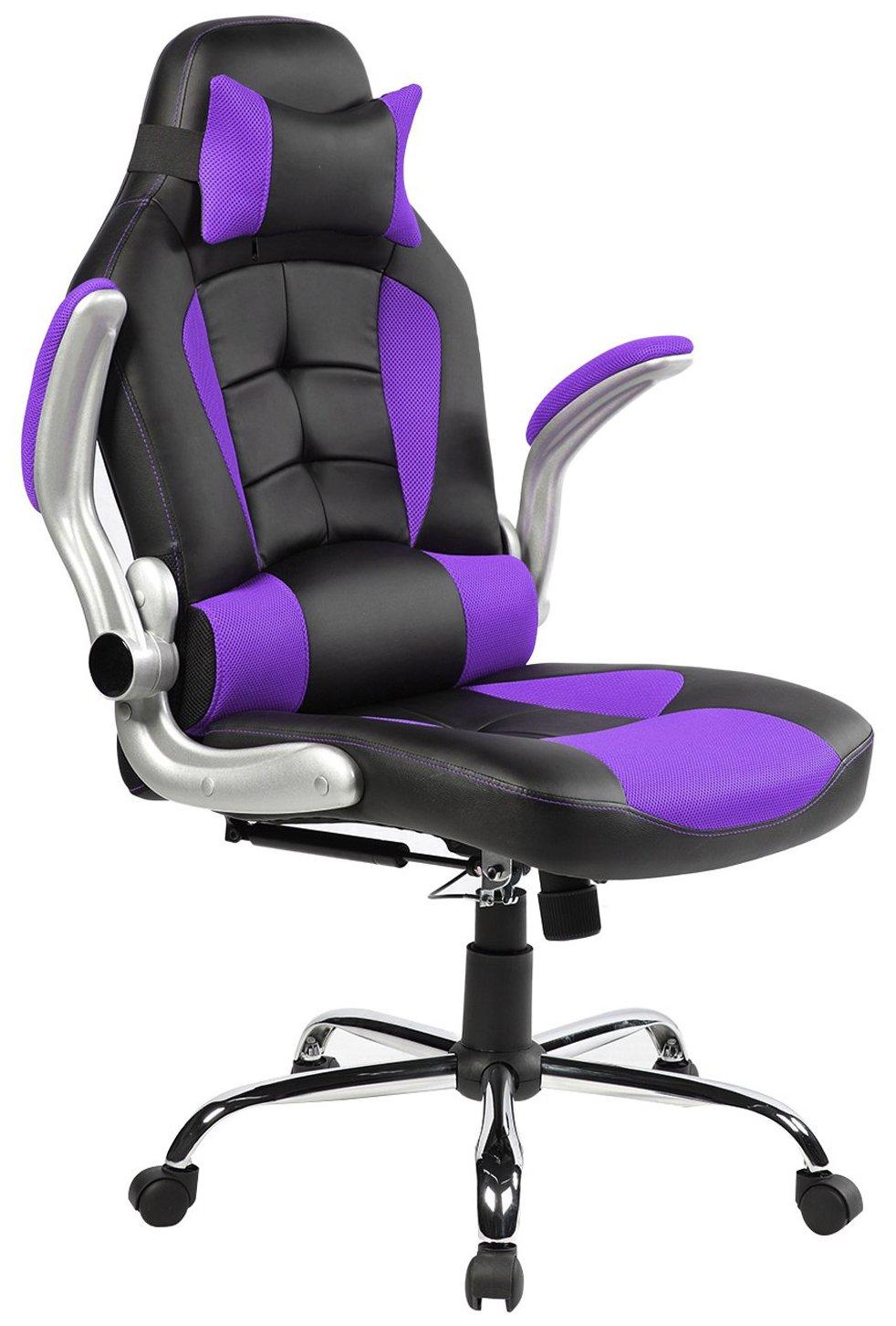 Amazoncom Merax King Series High Back Ergonomic Pu Leather Office