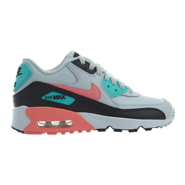 Nike Nike Air Max 90 90 90 Ltr (Gs) - pure platinum lava glow-schwarz, Größe 5Y 20a842