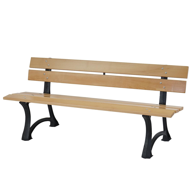 Neu Gartenbank Holz Metall Ideen