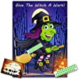 Halloween Party Game- GIVE THE WITCH A WART - upto 35 players- #H