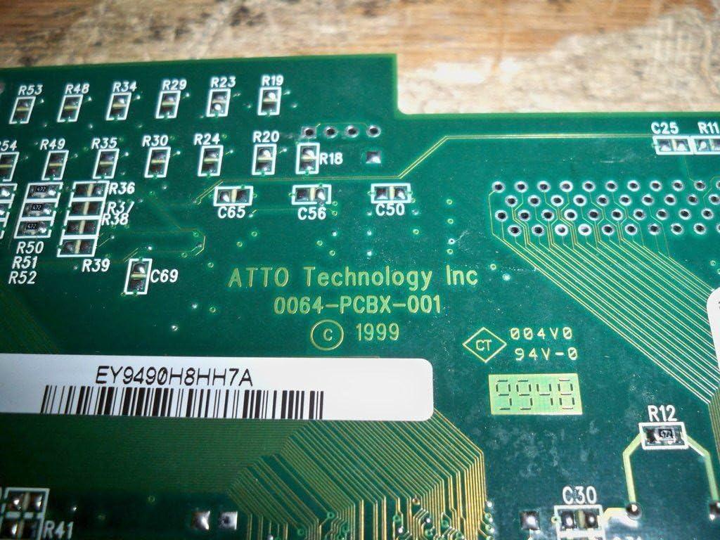 0064-PCBX-001 ATTO EXPRESSPCI UL2D LVD SCSI PCI CONTROLLER CARD