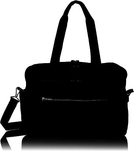 Vera Bradley Women s Microfiber Deluxe Weekender Travel Bag, Classic Black