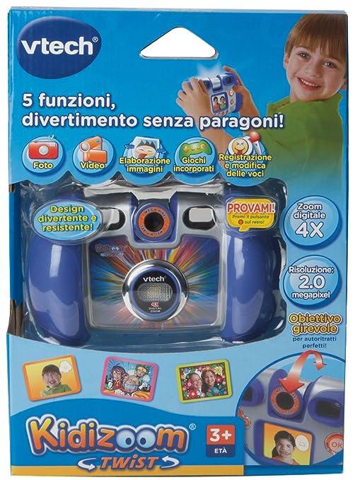 21 opinioni per Hasbro VTech Kidizoom Twist Fotocamera, Blue