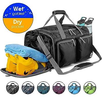 Amazon.com: Bolsa de deporte plegable con bolsa para la ...