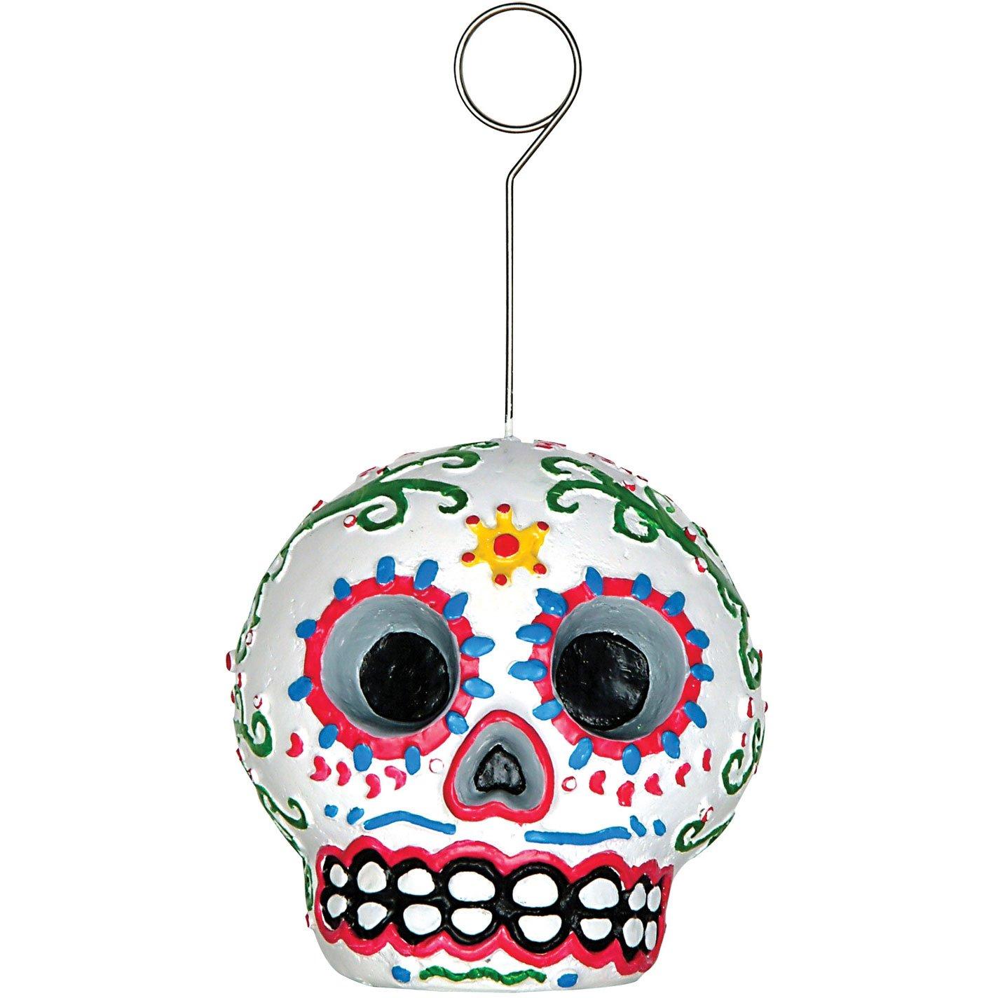 Amazon.com: Day Of The Dead Sugar Skull Photo Holder: Kitchen & Dining
