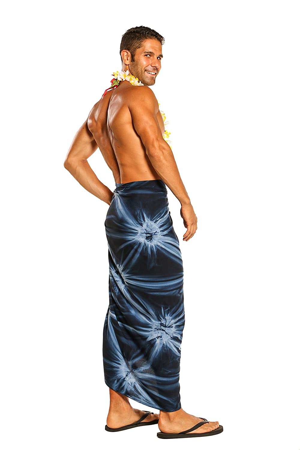 1 World Sarongs Mens Smoked Sarong