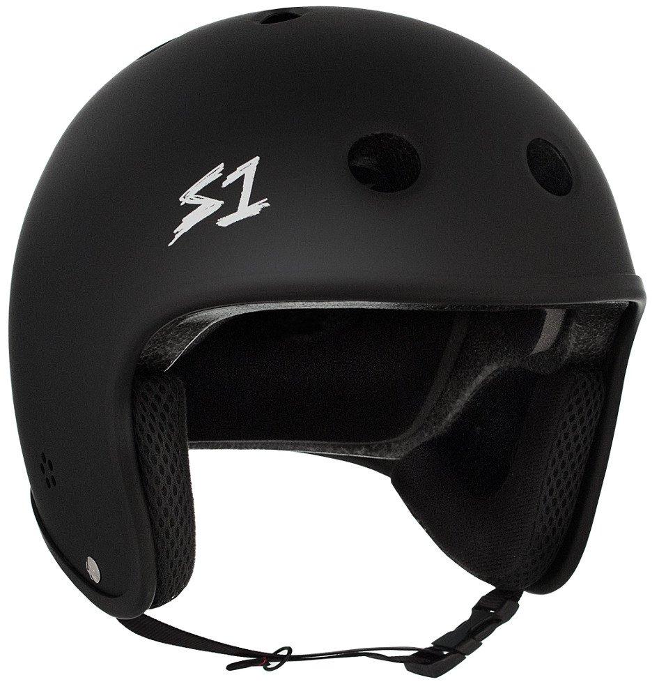 S-ONE Retro Lifer CPSC - Multi-Impact Helmet -Black Matte - Medium (21.5'')
