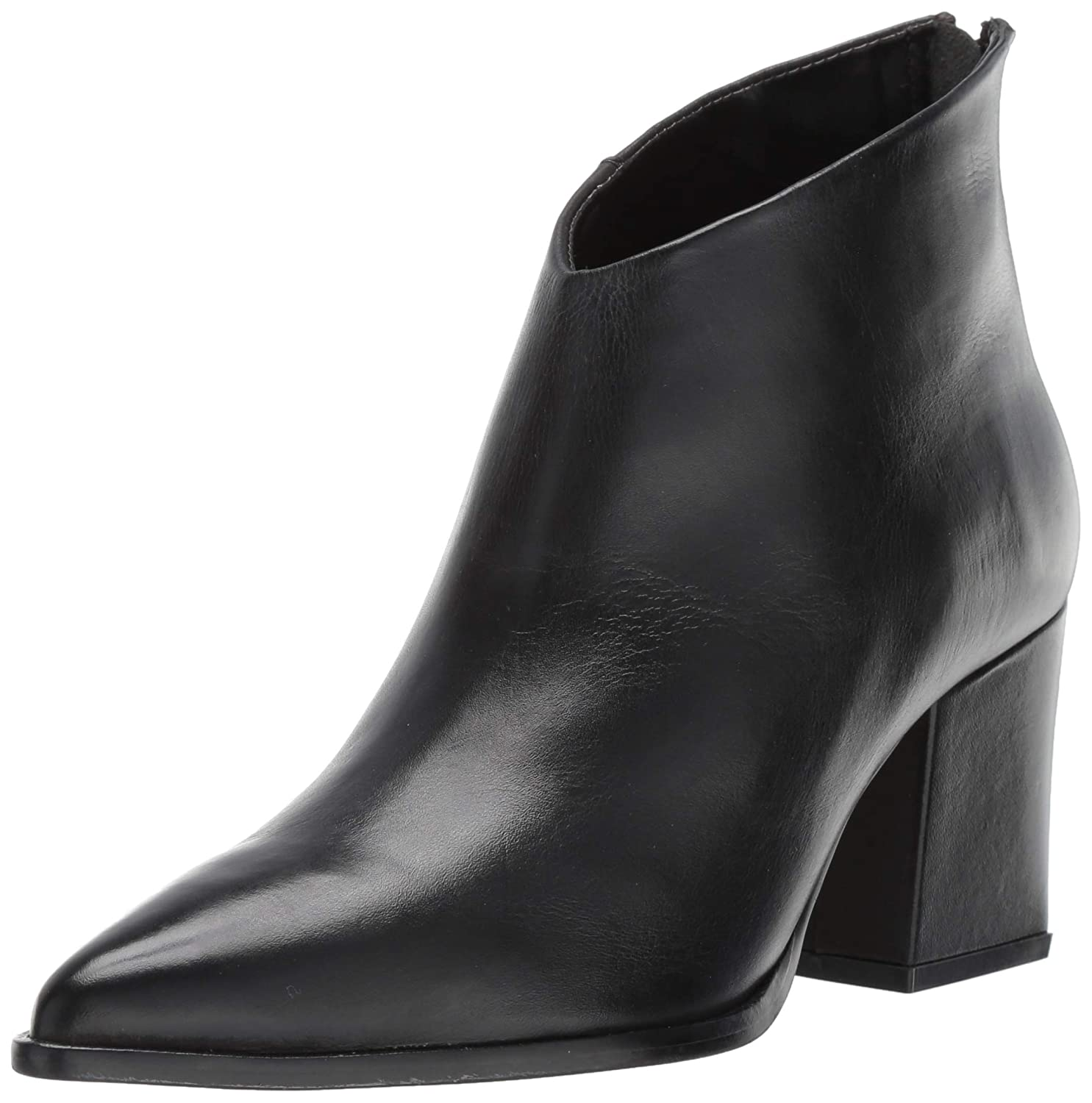 Black Leather LFL by Lust for Life Women's L-Twilight Ankle Boot