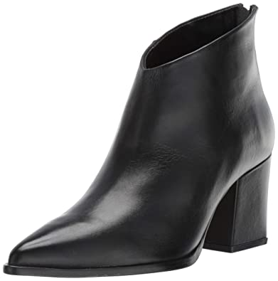 84e505bf98 LFL by Lust for Life Women's L-Twilight Ankle Boot, Black Leather, 6