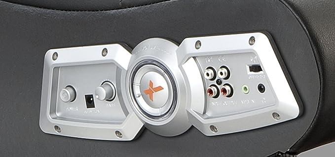 ACE BAYOU X Rocker 5127401 Pedestal Videojuegos Silla, inalámbrico, Color Negro: Amazon.es: Deportes y aire libre