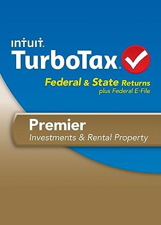 Amazon.com: TurboTax Premier Fed + Efile + State 2013 OLD VERSION