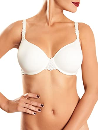 db9b389b528fb Chantelle Champs Elysees 2605 Underwired Convertible Smooth Moulded T-Shirt  Bra Ivory US32B