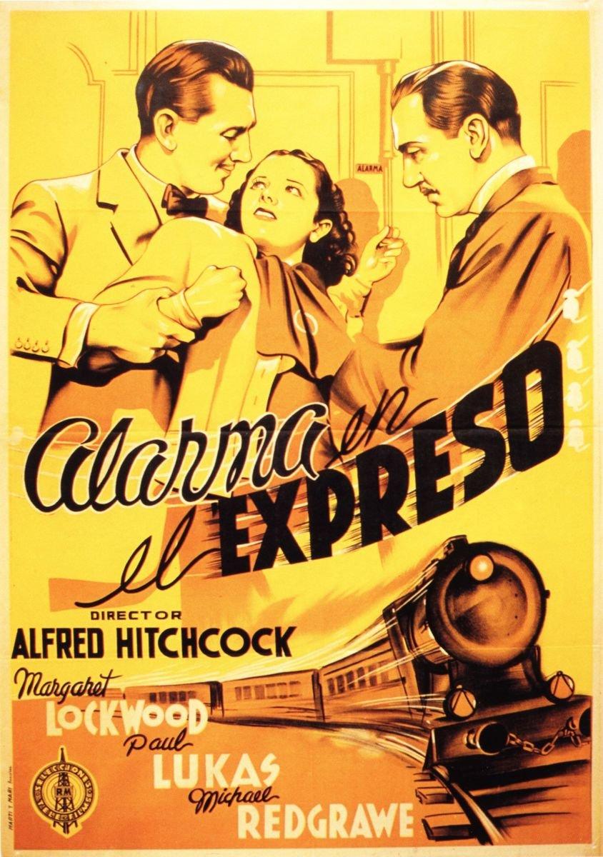 Amazon.com: Alarma En El Expreso [Blu-Ray] [Blu-Ray] [1938 ...