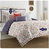Amazon Com Orla Kiely Field Of Flowers Twin Comforter