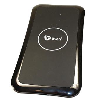 Cargador inalámbrico por inducción para Motorola DROID Turbo móvil: Amazon.es: Informática