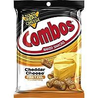12-Pk. COMBOS Cheddar Cheese Pretzel Baked Snacks 6.3-Ounce Bag