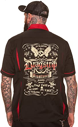 Dragstrip Bolos Camiseta Hotrod Lucky 13 Tattoo Biker ...