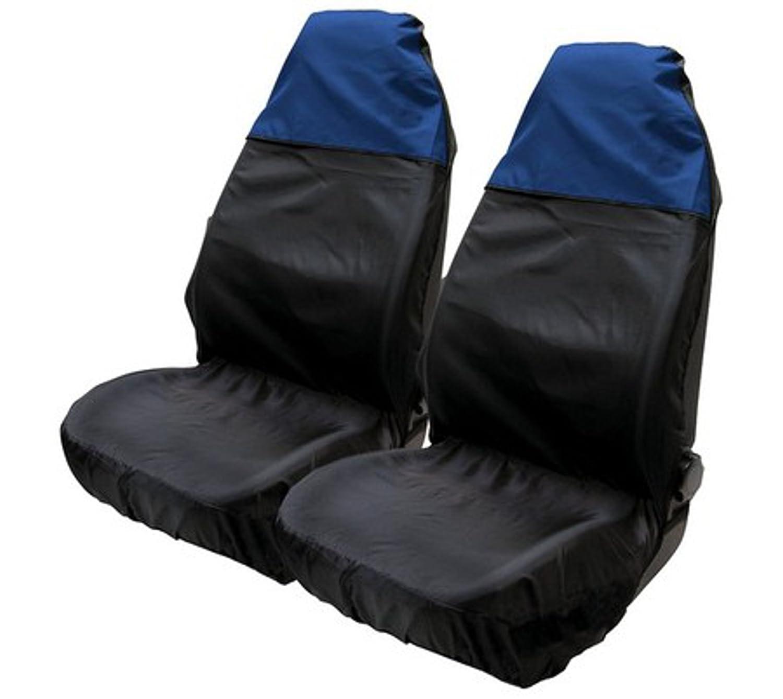 ASC-sedile, in Nylon resistente all'acqua, colore: blu/nero in Nylon resistente all' acqua