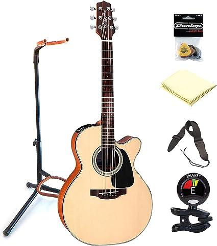 TAKAMINE gx18ce Taka Mini abeto 6 cuerdas acústica guitarra ...