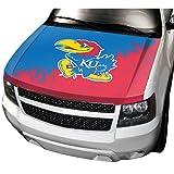NCAA Kansas Auto Hood Cover, One Size, One Color