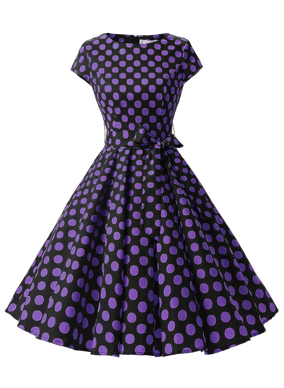 Dressystar - Vestido retro estilo años 50, disponible en estampado ...