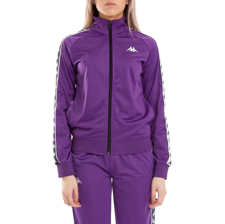 f8d35f3187 Amazon.com: Kappa Womens 222 Banda Wanniston Slim Jacket - Violet ...