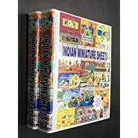 PRIZM Stamp Albums for Indian Miniature Sheets 2 VOLUMES 1973 to 2019 with Thailand Acid Free MOUNTS
