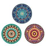 Absorbent Ceramic Stone Drink Coasters - NOBONDO