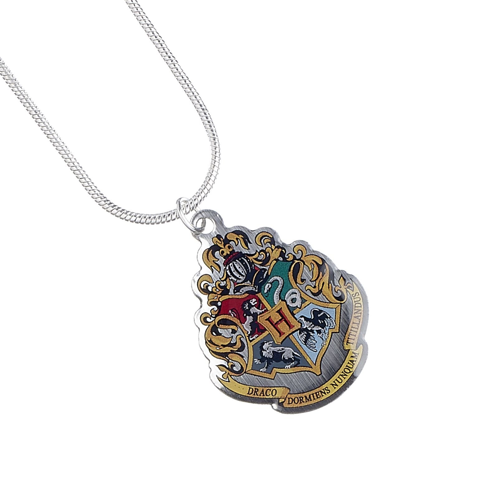 Harry Potter Official Licensed Jewelry Themed Necklaces (Hogwarts Crest)