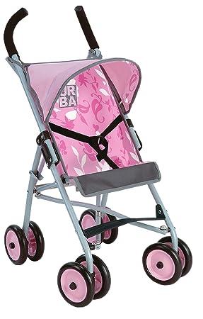 Amazon.es: Coloma plegable carrito de bebé Rosa con campana: Juguetes y juegos