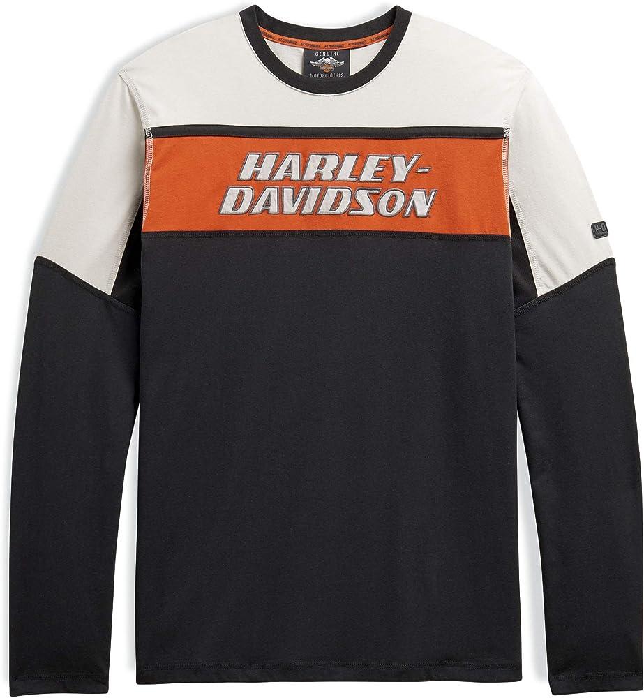 HARLEY-DAVIDSON - Camiseta de Manga Larga para Hombre Small: Amazon.es: Ropa y accesorios