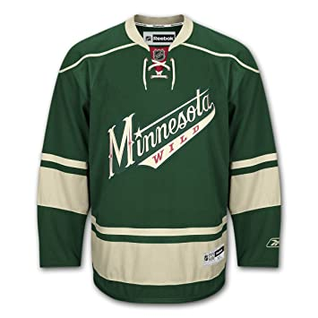 Reebok Minnesota Wild Premier NHL Jersey 3rd (L)  Amazon.co.uk ... eb45ed6fe
