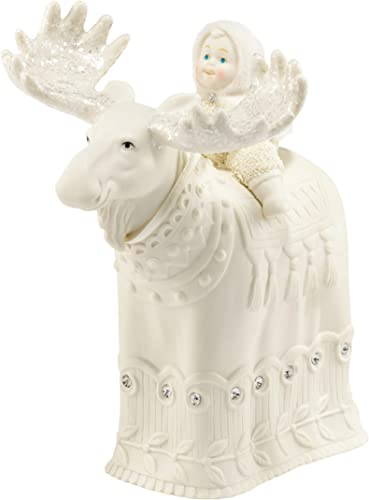 Department 56 Snowbabies Dream Collection Majestic Moose Figurine, 7.87 inch