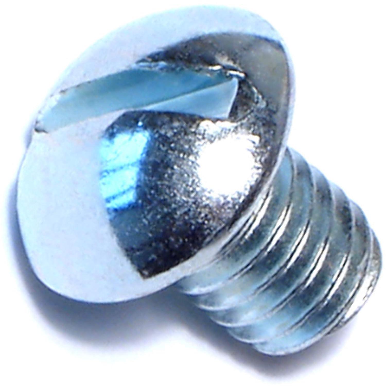 Piece-100 3//8-16 x 1//2 Hard-to-Find Fastener 014973316785 Slotted Round Machine Screws